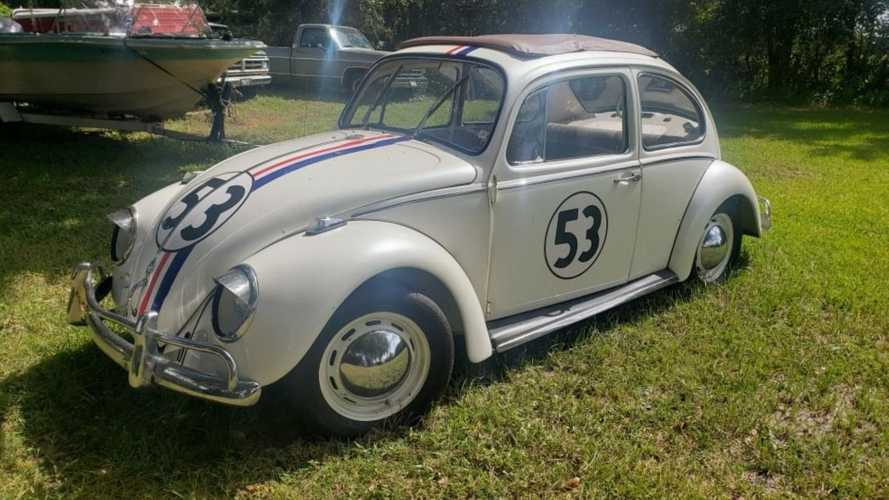 Place A Bid On This 1968 Volkswagen Beetle Herbie Tribute