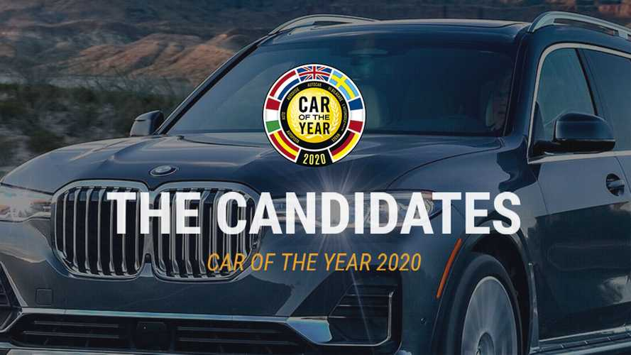 Copertina Auto dell'anno 2020, tutte le candidate
