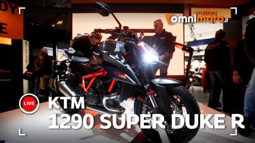KTM 1290 Super Duke R 2020, la bestia è ancora più arrabbiata