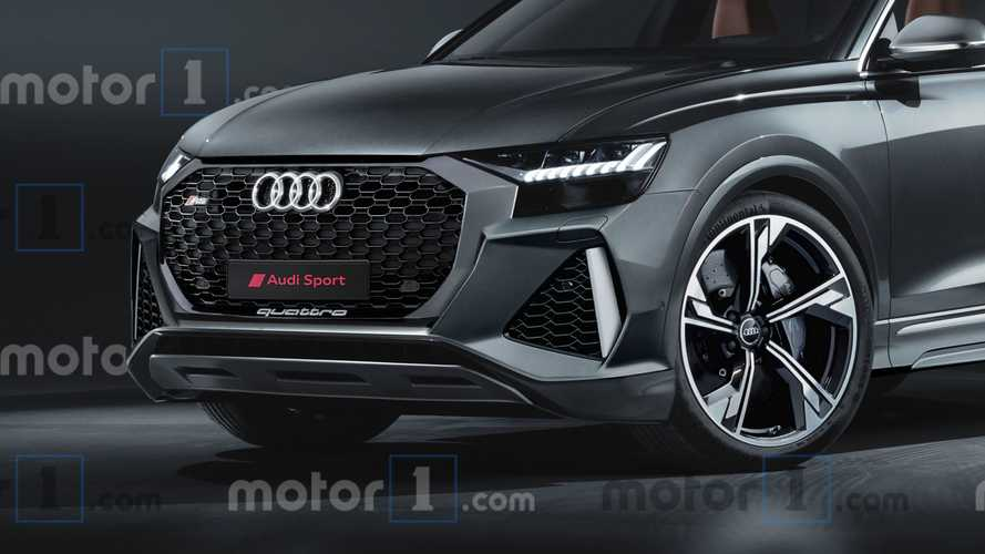 Illustration 2020 Audi RS Q8