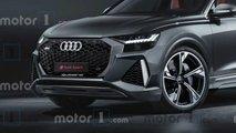 2020 Audi RS Q8 Motor1 render
