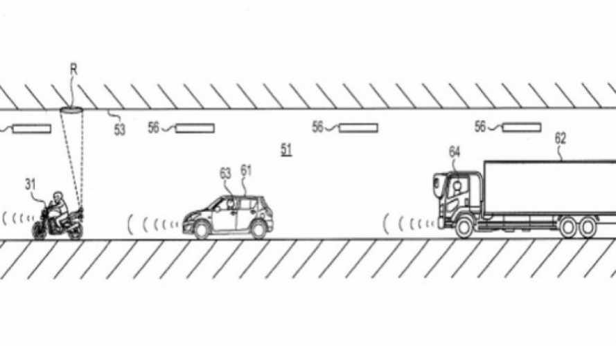 Suzuki brevetta un nuovo sistema di visibilità