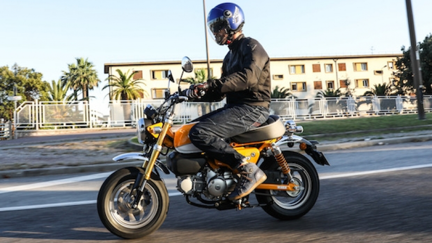 Nuova Honda Monkey - TEST