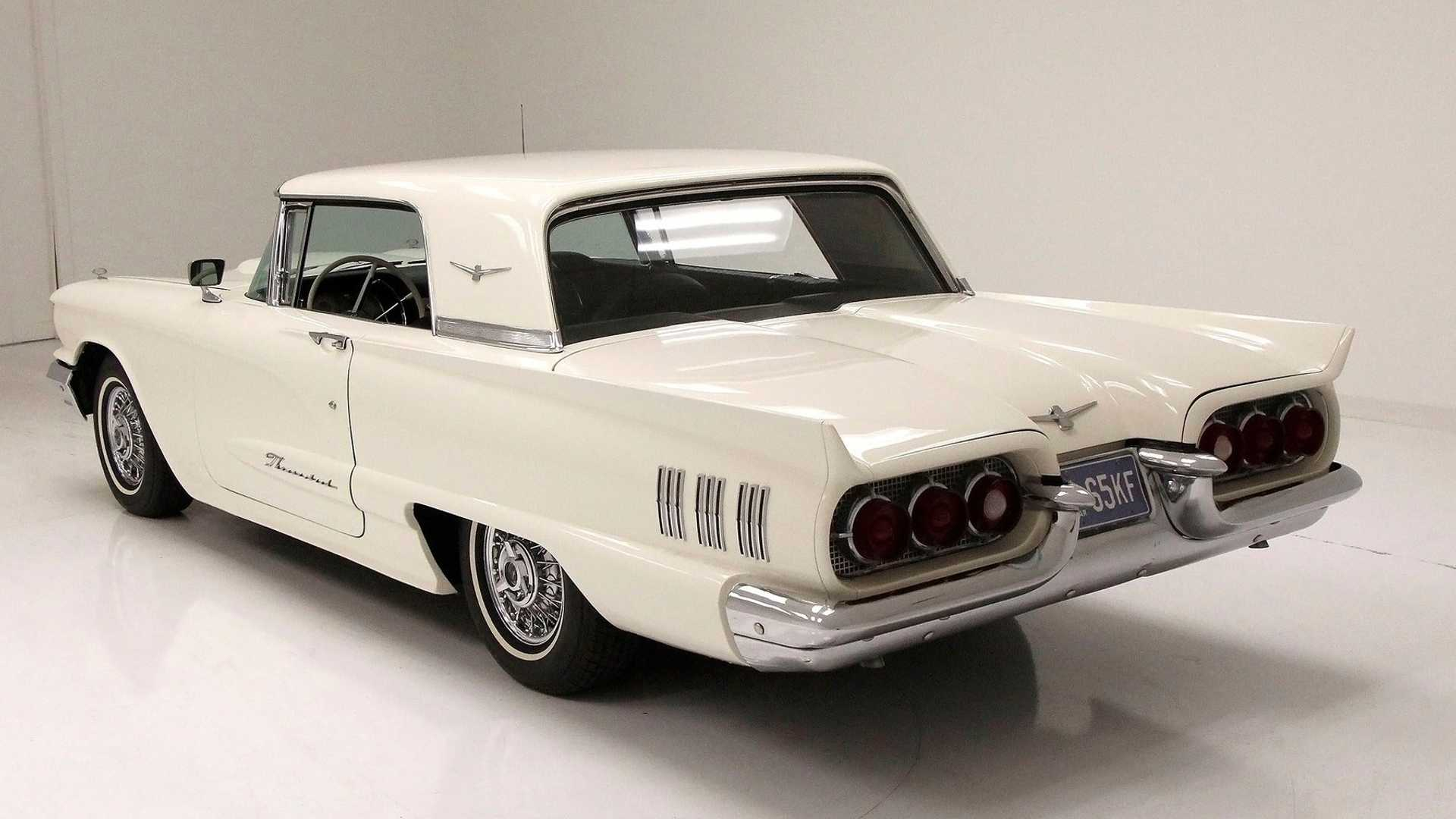 "[""Get Your Hands On This Spotless 1960 Ford Thunderbird""]"