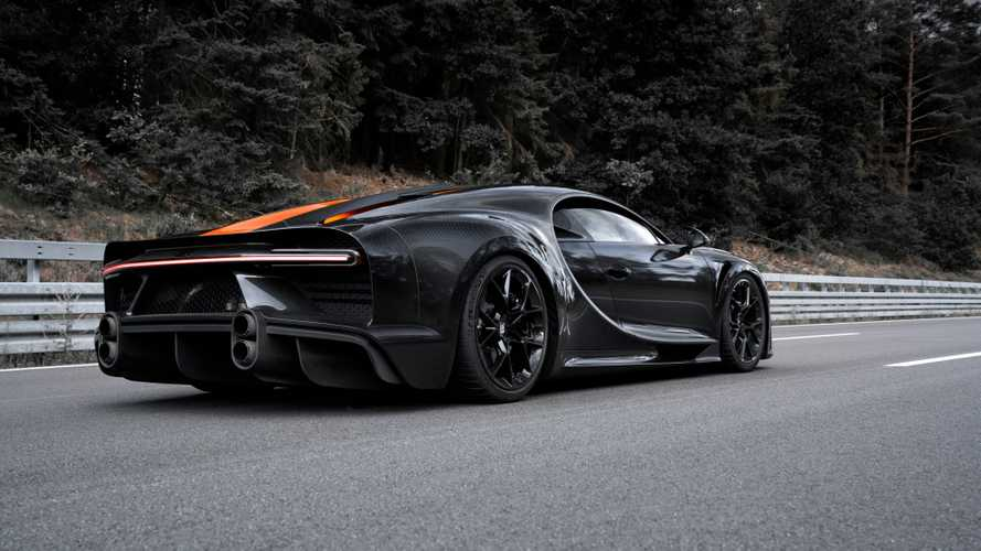 Bugatti Chiron Longtail would've hit 320 mph on Nevada highway