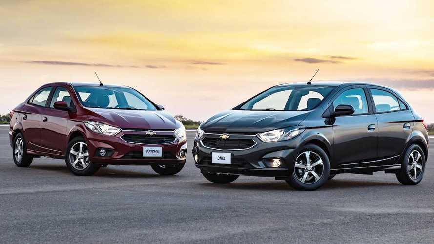 Mais vendidos em setembro: GM faz inédita dobradinha com Onix e Prisma