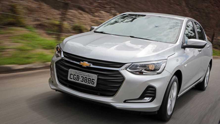 Chevrolet cancela lançamento do Onix Plus em países do Oriente Médio