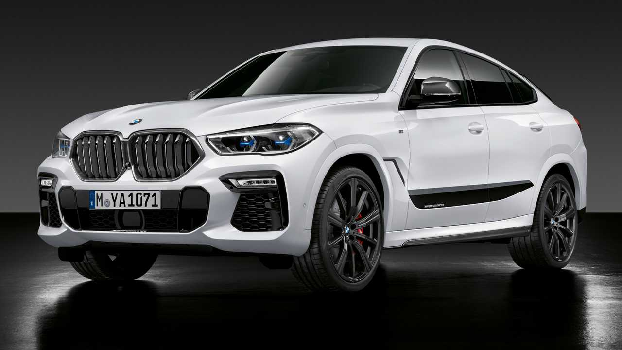 2020 BMW X6 - M Performance Parts