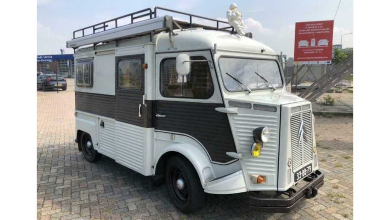 Camper Vans For Sale >> 1977 Citroen Camper Van For Sale Is The Cutest Little Thing
