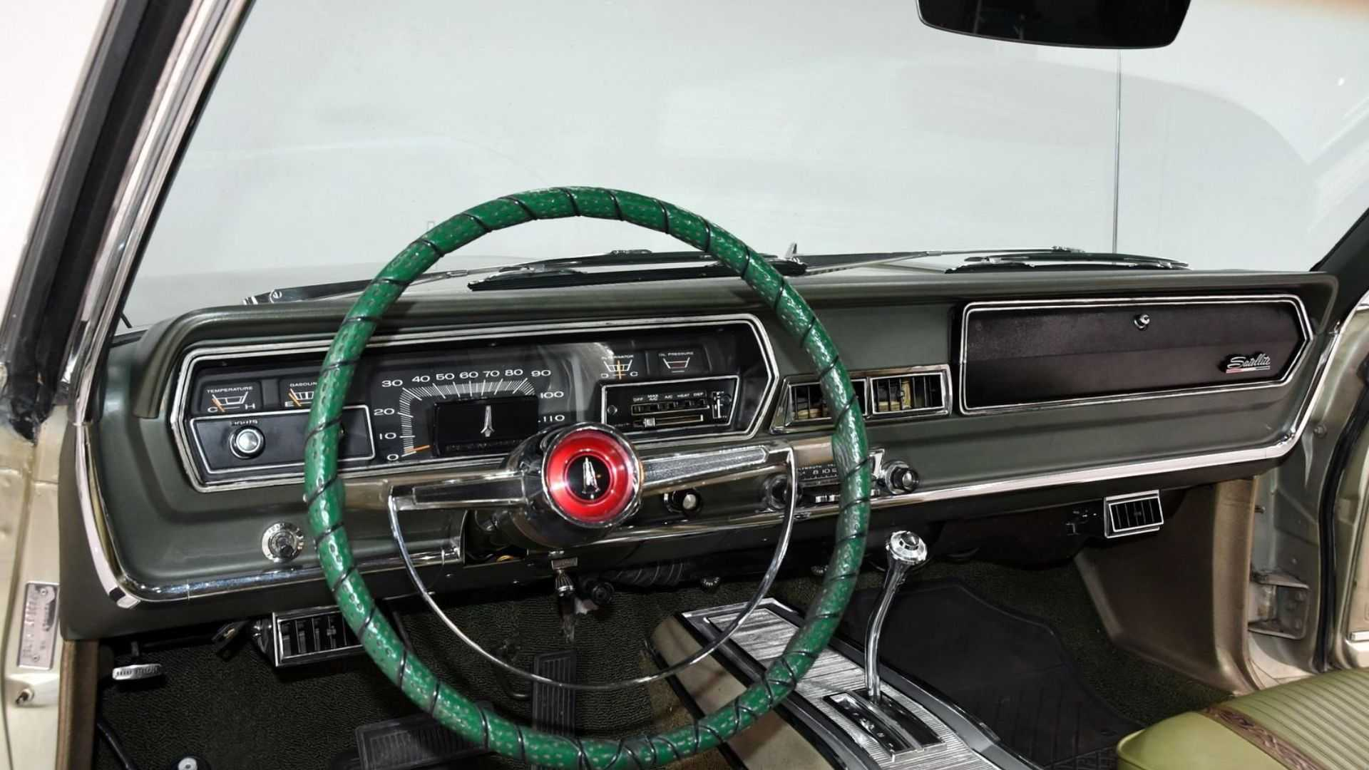 """[""""1966 Plymouth Satellite Lets You Shred Serious Rubber""""]"""