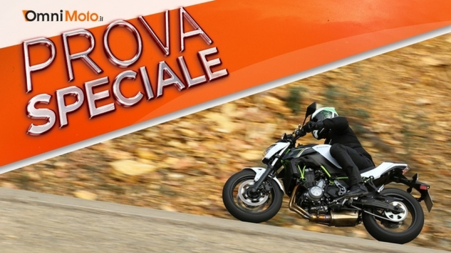 Kawasaki Z650: accento sportivo! [VIDEO]