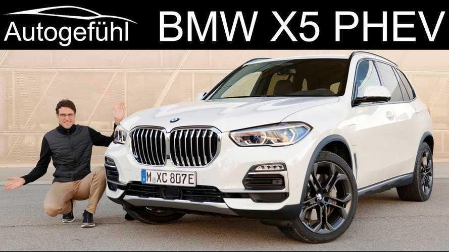 BMW X5 xDrive45e Featured By Autogefühl: Video