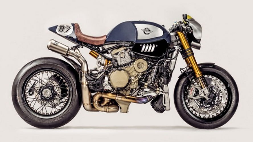 """Ducati 1299 Panigale R """"The Blue Shark"""" by Parts World"""