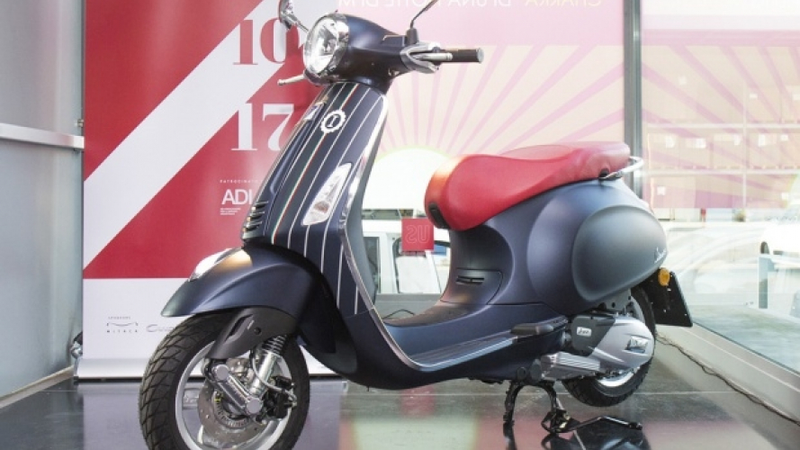 Vespa: ecco l'interpretazione di Garage Italia Customs