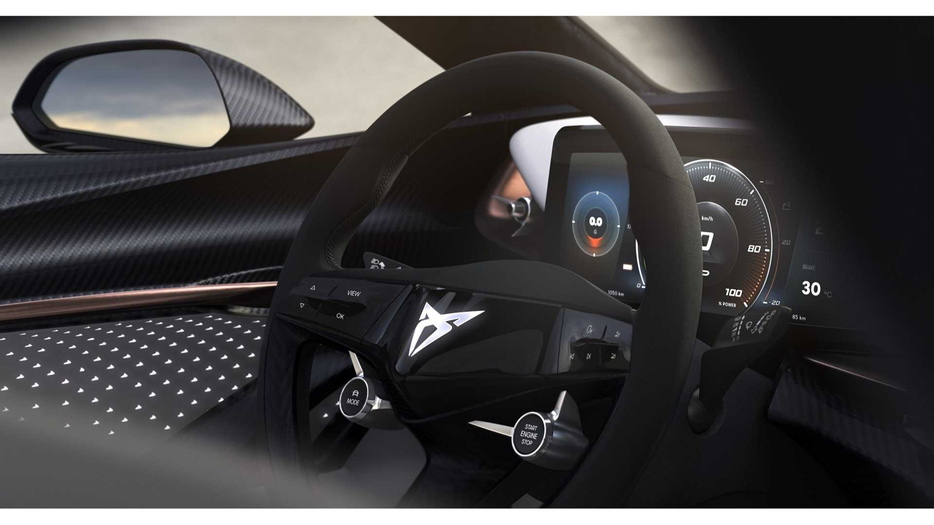 Cupra Teases Interior Of Its All-Electric Concept