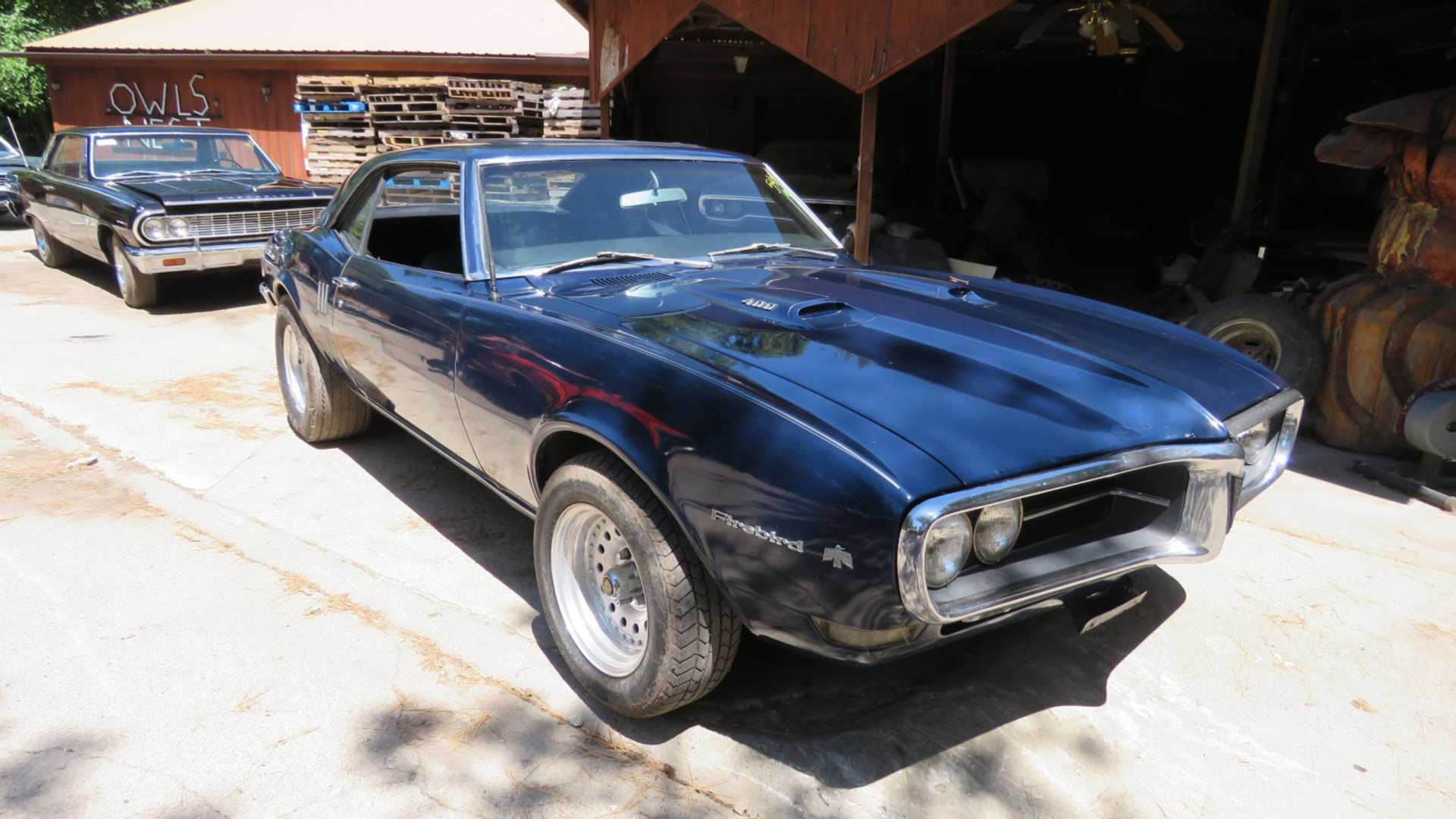 "[""Muscle Car Collection Auction Is A Barn Find Bonanza""]"