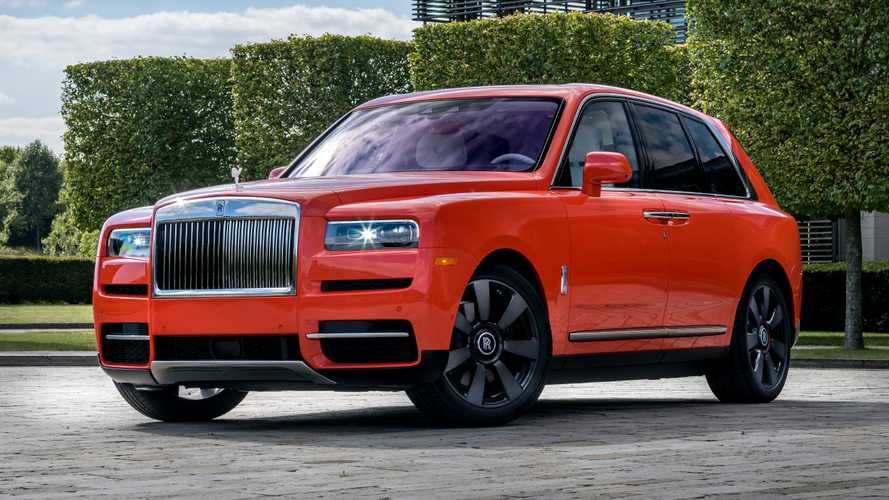 Guy Owns 10 Rolls-Royce Bespoke Colors Including Orange Cullinan