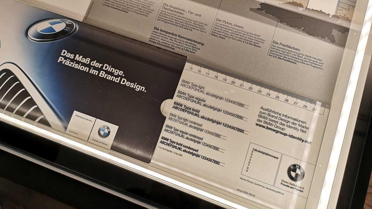 Typographie BMW