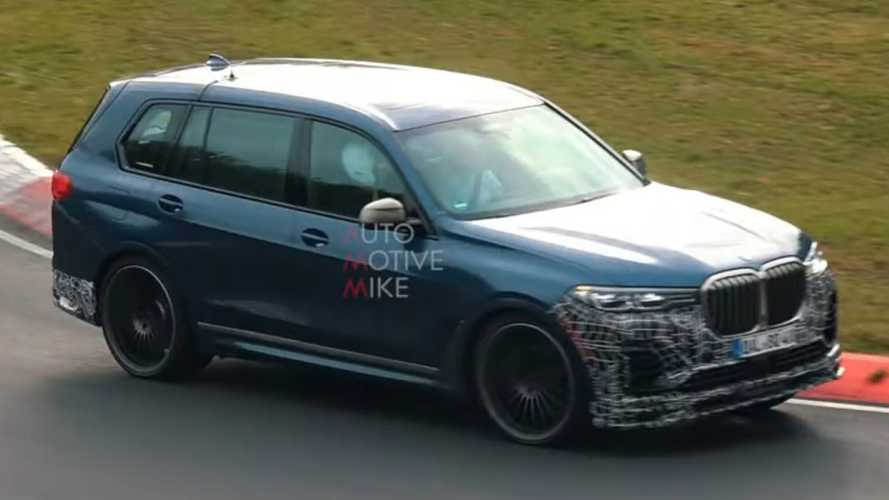 Alpina XB7 looks surprisingly agile in Nurburgring spy video
