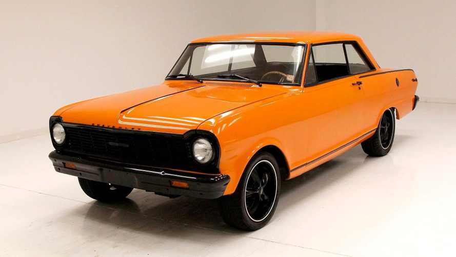 Restored 1965 Chevrolet Nova SS Gets Upgraded Engine