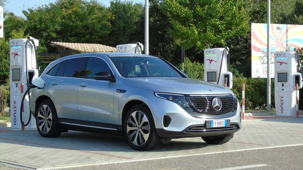 Mercedes EQC 2019, prueba consumo