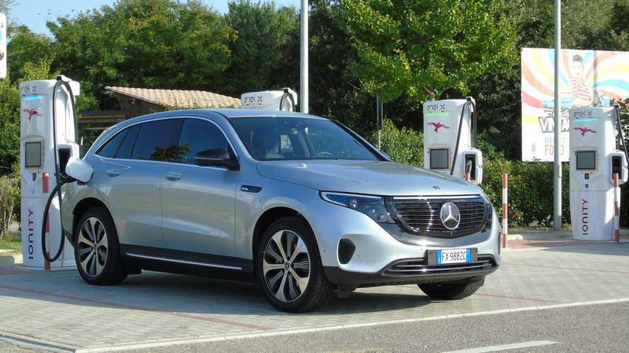 Mercedes EQC 2019, prueba de consumo real