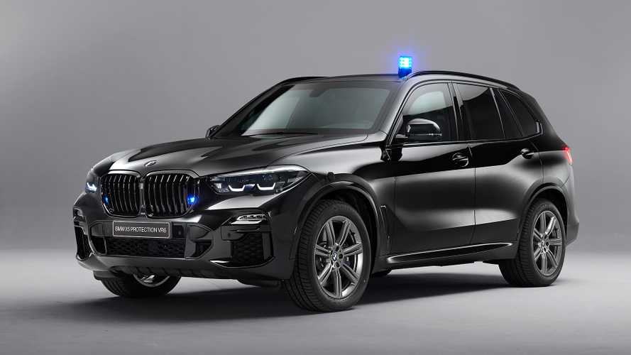 BMW X5 Protection VR6 can withstand AK-47 bullets
