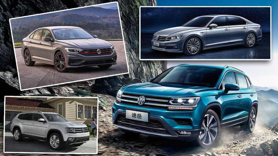 Estos son los modelos de Volkswagen que no se venden en Europa