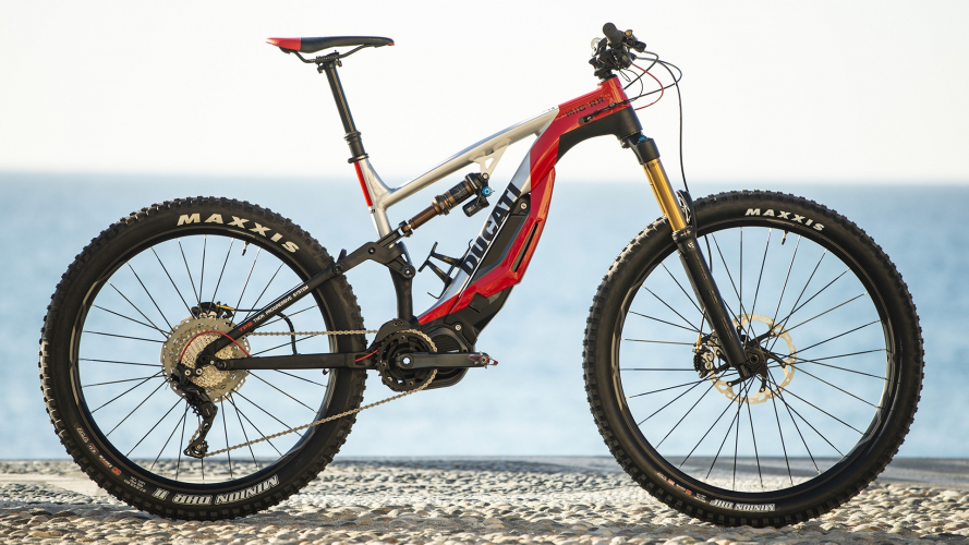 Ducati MIG-RR, è in arrivo la mountain bike a pedalata assistita
