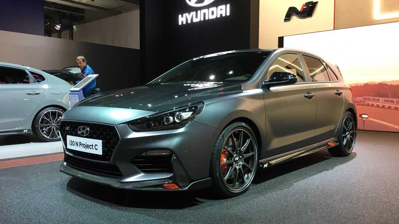 Hyundai i30 N Project C al Salone di Francoforte