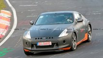 Nissan 370Z test mule additional spy photos