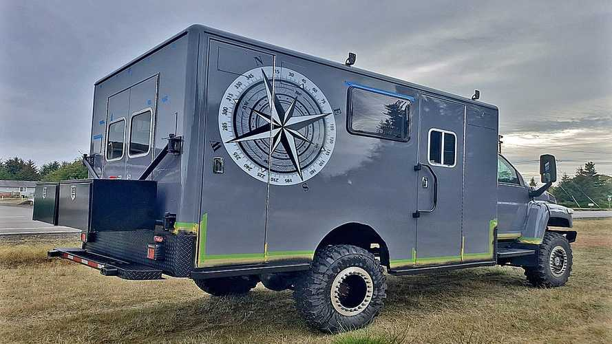 Overlander Ambulance Rig Is Off-Road Ready With 900 HP