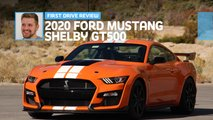 2020 ford mustang shelby gt500 first drive