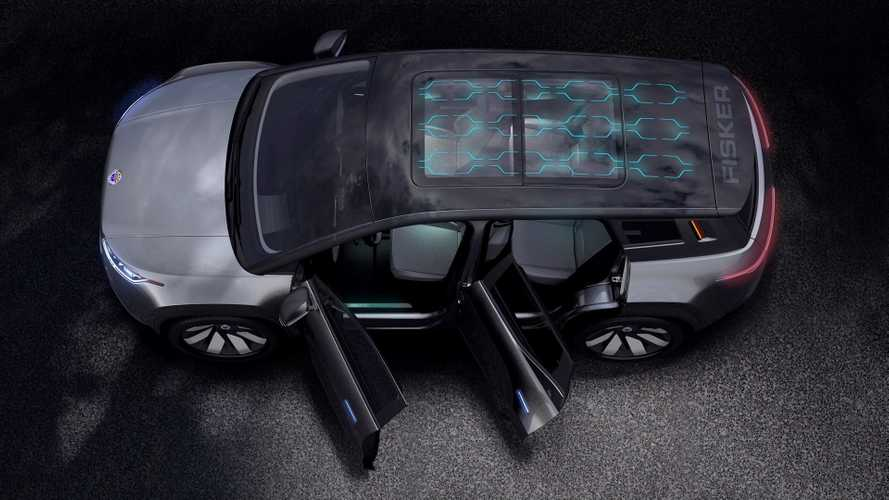 Fiskers Elektro-SUV: Renderings und Teaserbilder