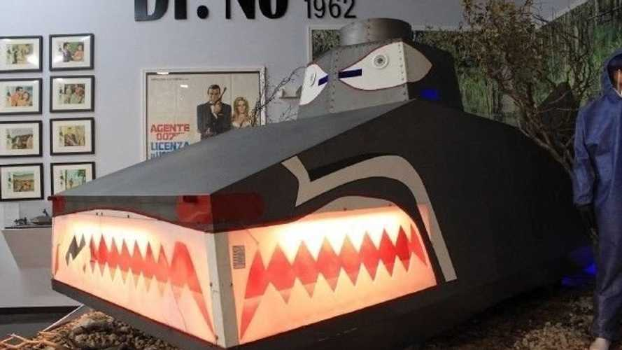 Shoot Flames In This Dragon Tank Built For James Bond Dr. No
