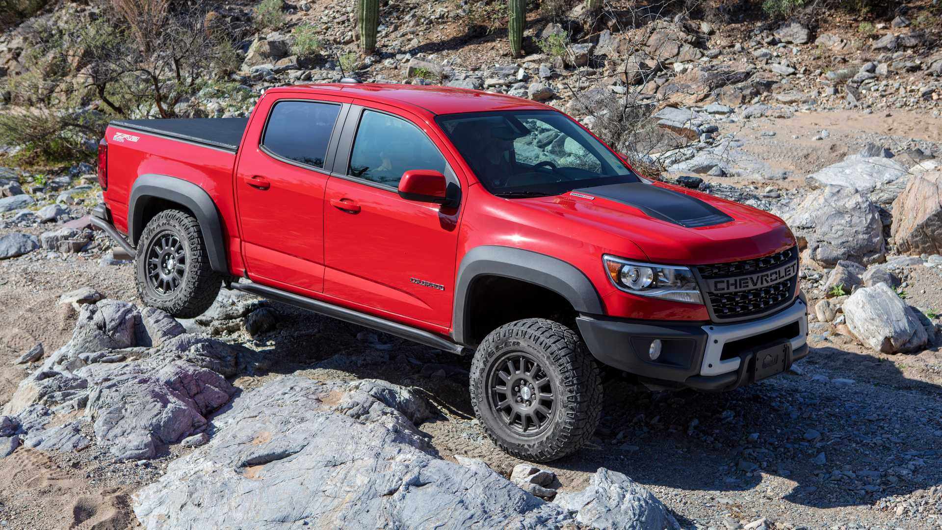 Chevy Colorado ZR2 Bison 'Plus' In The Works With More Off-Road Chops