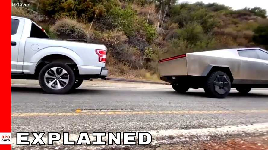 Tesla Cybertruck Vs Ford F-150 Tug-Of-War Explored