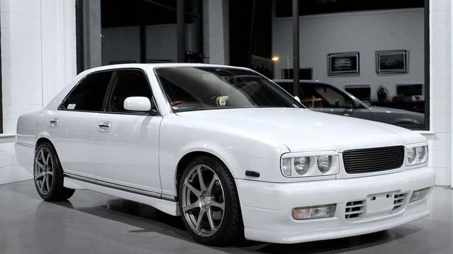 Celebrate JDM Glory In A 1994 Nissan Gloria Gran Turismo