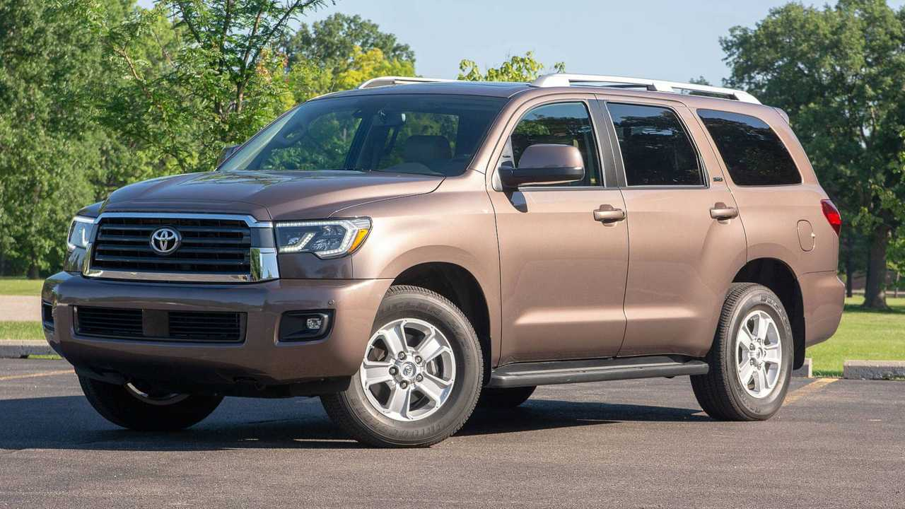 1. Toyota Sequoia: 10.4 Percent