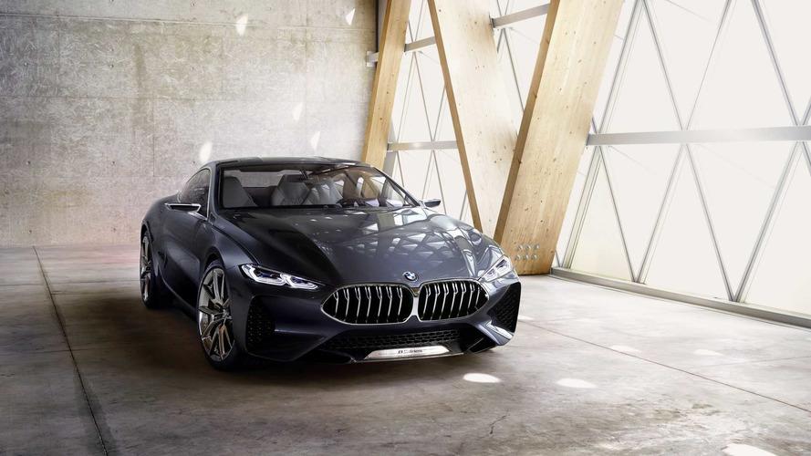 BMW 8 Serisi'nin konsept hali etkileyici yüzünü gösterdi
