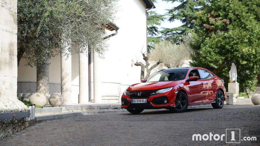 Honda offre une vraie boîte automatique à la Civic
