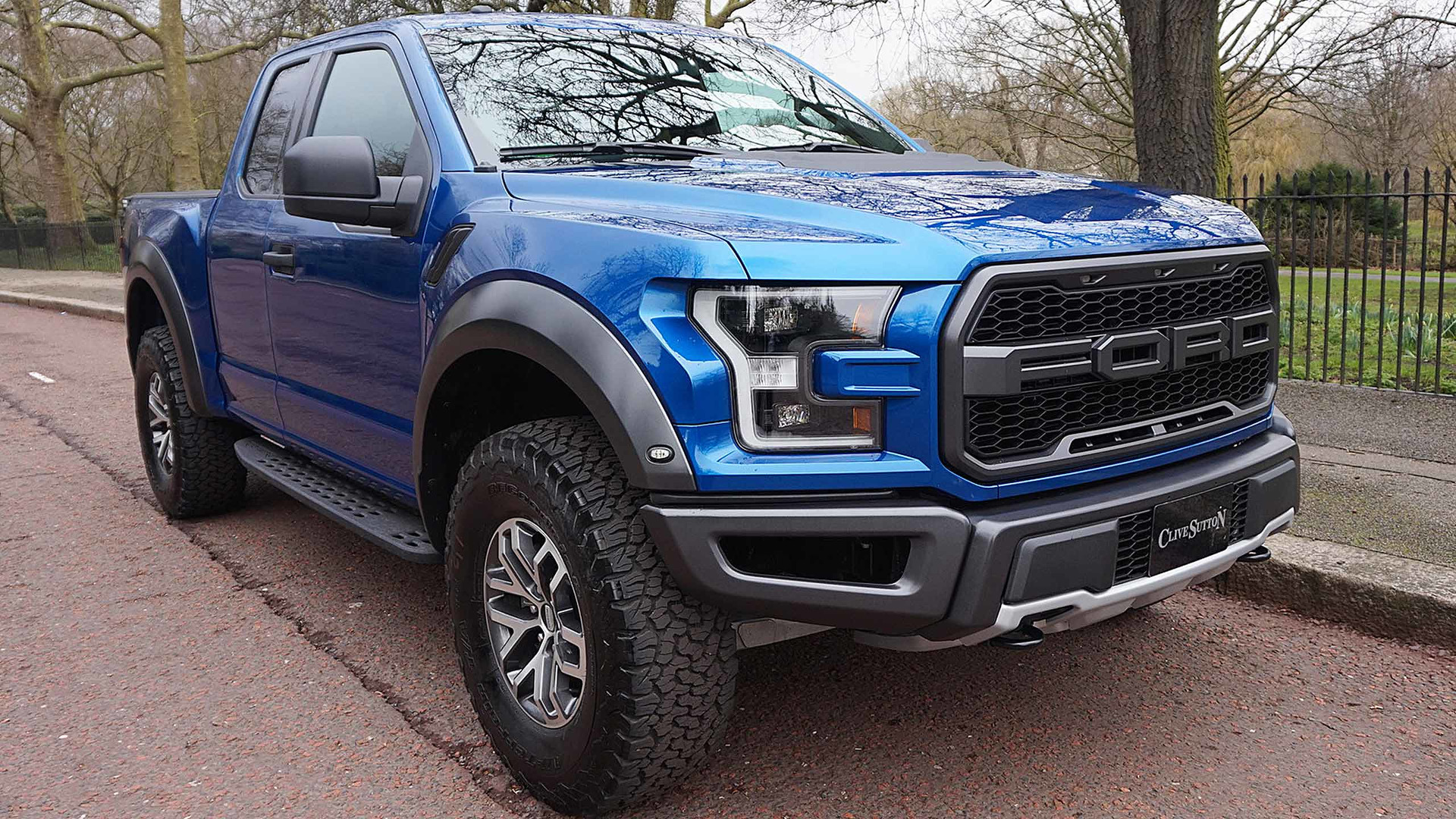 Ford f 150 raptor on sale in uk for £78000