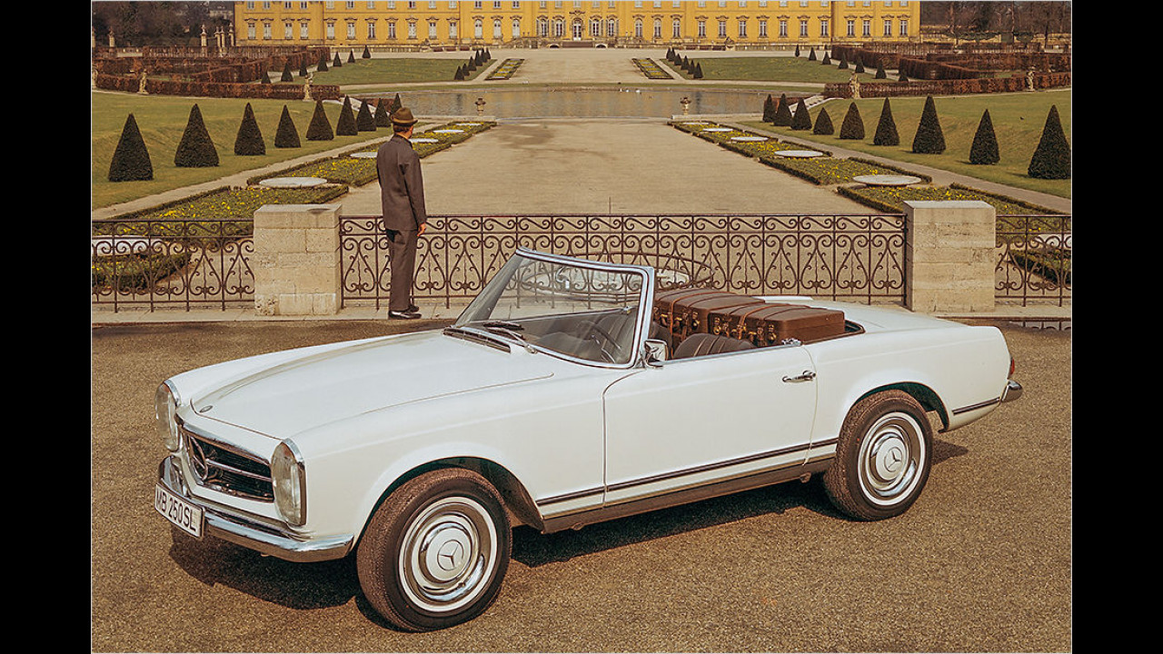 Platz 9: Der Mercedes W 113 ,Pagode