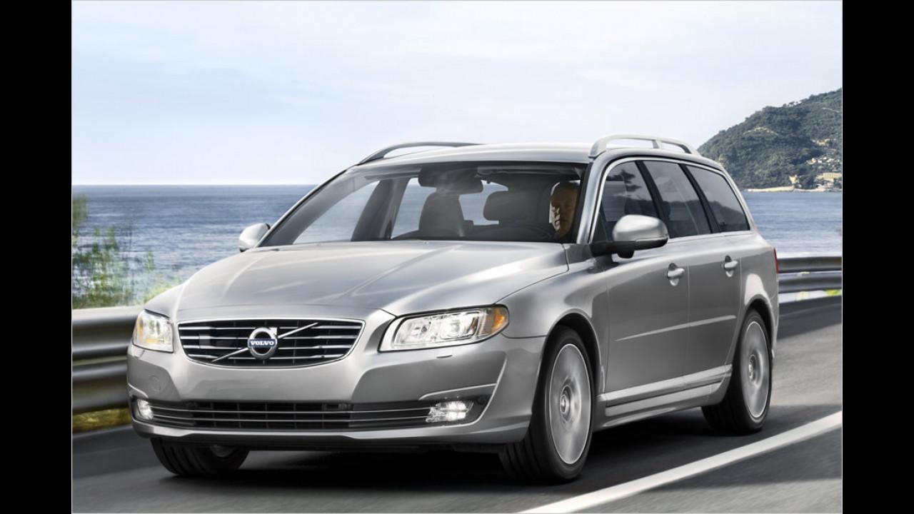 Obere Mittelklasse: Volvo V70 als stärkster Verlierer