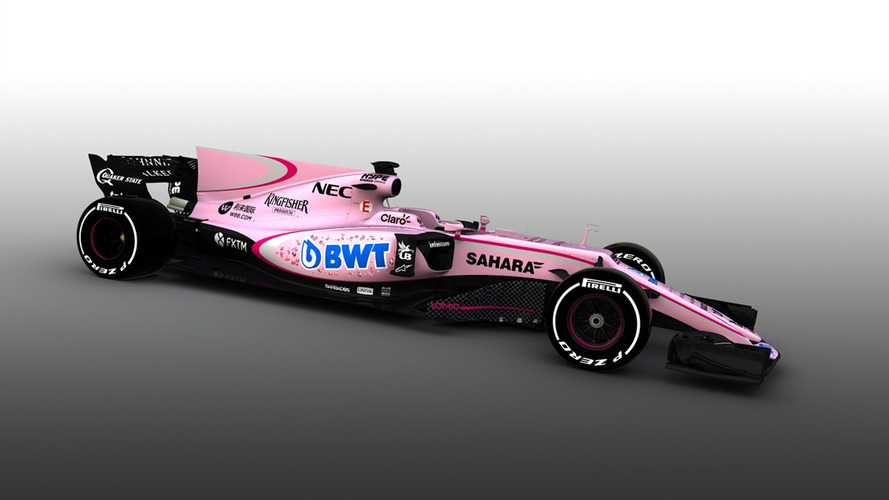 Formule 1 - La monoplace Force India passe au rose en 2017