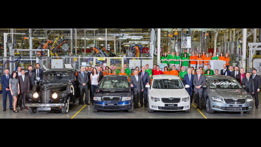 Skoda Produces One Millionth Superb