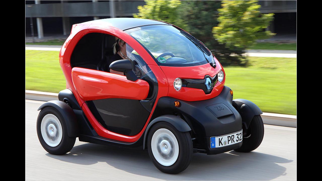 Platz 2: Renault Twizy