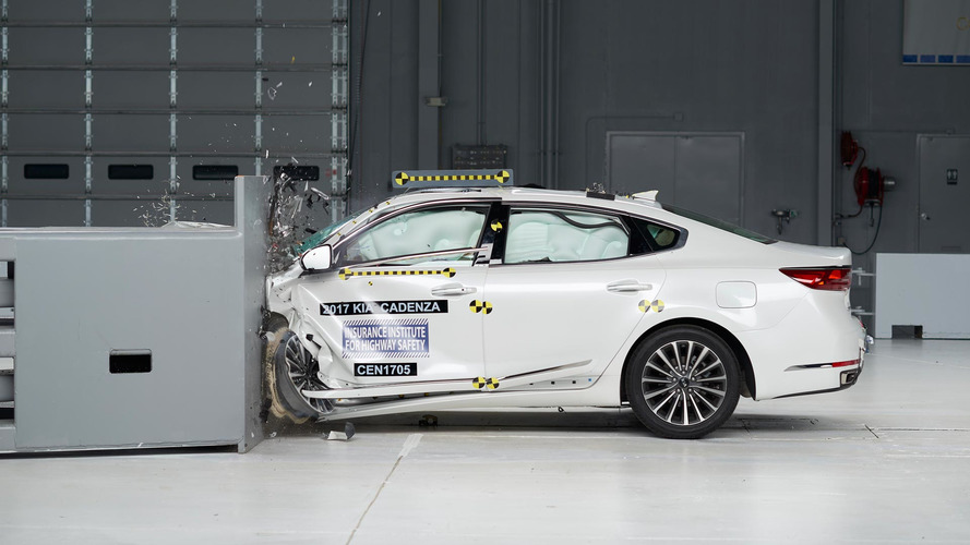 2017 Kia Cadenza Crashes Its Way To Top Safety Pick+ Award
