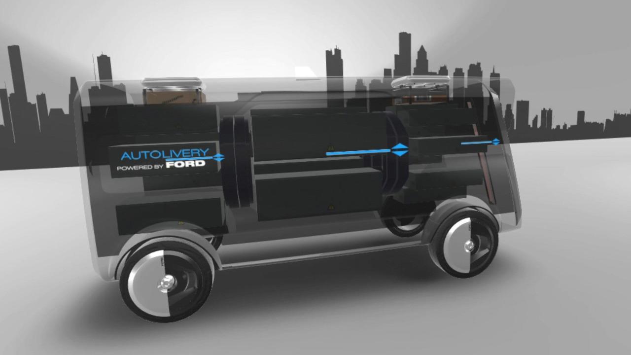 Ford otonom kargo aracı