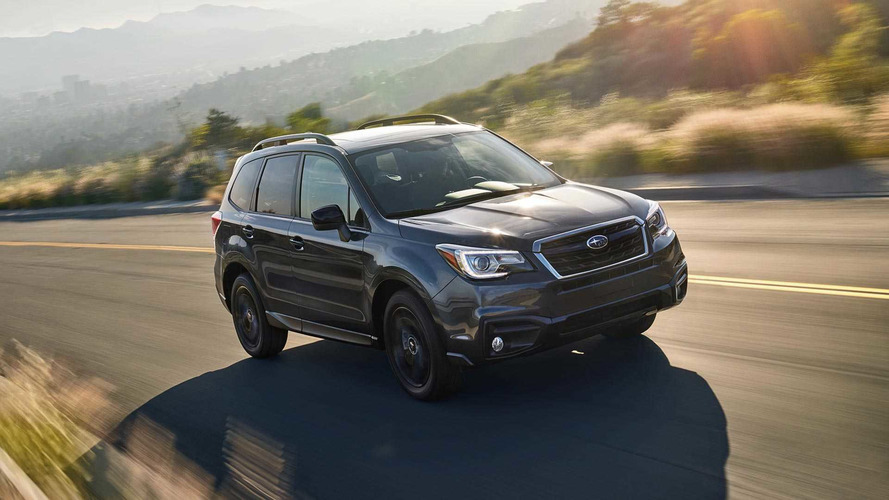 2018 Subaru Forester Gets Darkly Stylish With New Black Edition